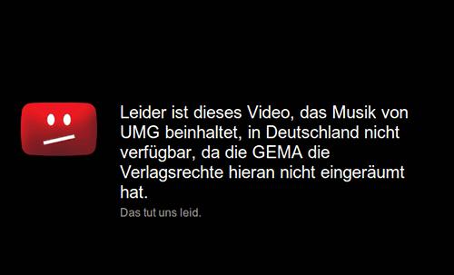 Leider ist dieses Video, das Musik von UMG beinhaltet, in Deutschland nicht verfügbar, da die GEMA die Verlagsrechte hieran nicht eingeräumt hat. Das tut uns leid.