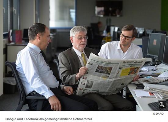 Google und Facebook als gemeingefährliche Schmarotzer