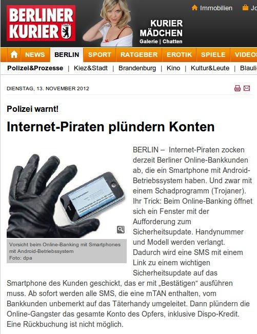 Polizei warnt! Internet-Piraten plündern Konten